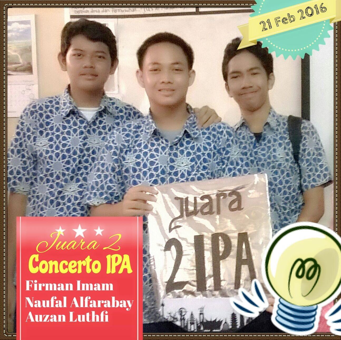 Runner up Concerto IPA